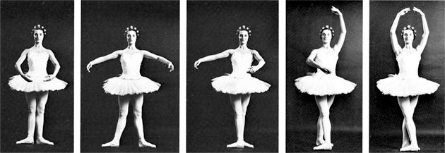five positions ballet - cinque posizioni danza