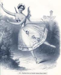 carlotta grisi in GISELLE